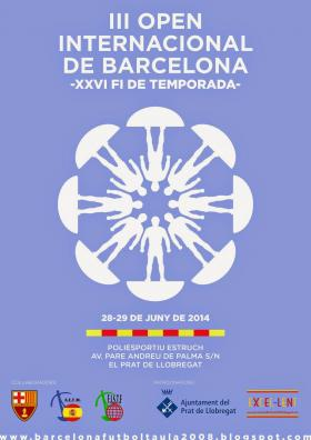Cartel del Open Internacional de Barcelona 2014